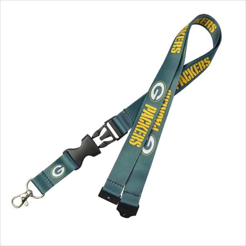 Nfl lanyards  Nfl lanyards for Green bay packers team  gcwebbing